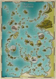 Nice island maps