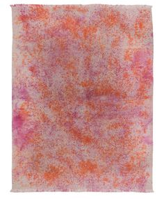 SPLATTER PAINT I ORANGE