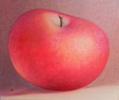 ARTFINDER: appleX by Muntean Floare - The apples is my preference theme , I  paint this in many colours,  and different  increase . That is 50/60 cm. finished with a glaze     varnish , is sold u...