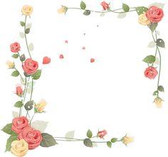 cadres fleurs - tatakiki