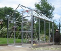 Elite High Eave 6x20 Greenhouse Horticultural 6x4 Greenhousealuminium Greenhouselean To