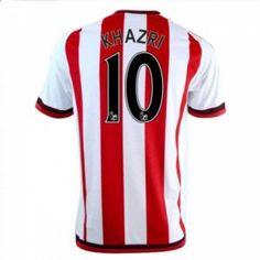Sunderland AFC Home 16-17 Season Khazri #10 Red Soccer Jersey [I318]