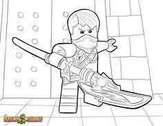 LEGO Ninjago Coloring Page, LEGO LEGO Ninjago Jay Tournament of Elements Printable Color Sheet