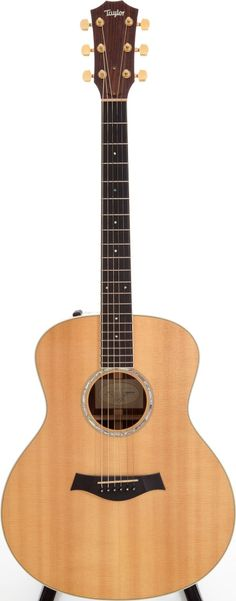 2008 Taylor Natural Acoustic Guitar, Serial # Indian rosewood back and sides with a spruce - Available at 2012 October 27 Vintage Guitars. Acoustic Guitar For Sale, Acoustic Music, Acoustic Guitars, Rare Guitars, Fender Guitars, Vintage Guitars, Taylor Guitars, Archtop Guitar, Guitars For Sale