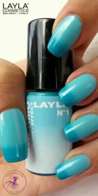 THERMO EFFECT . 01DARK TO LIGHT BLUE. www.laylacosmetics.ro