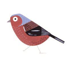 Garden Bird set - Christine Pym