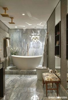 Luxury Master Bathroom Ideas is very important for your home. Whether you pick the Luxury Bathroom Master Baths Photo Galleries or Luxury Master Bathroom Ideas Decor, you will create the best Bathroom Ideas Apartment Design for your own life. Replace Bathroom Faucet, Small Bathroom, Neutral Bathroom, Bad Inspiration, Bathroom Inspiration, Bathroom Design Luxury, Luxury Bathrooms, Bathroom Designs, Bathroom Ideas