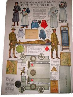 Image result for Tommy Atkins army hospital Paper Doll Sheet.