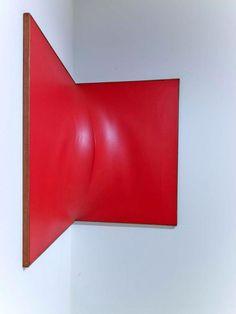 Enrico Castellani - Angular Red Surface, 1961