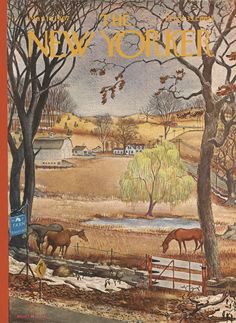 The New Yorker - Saturday, March 18, 1967 - Issue # 2196 - Vol. 43 - N° 4 - Cover by : Albert Hubbell