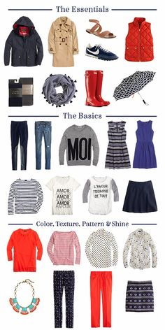 Packing for Europe: Spring Travel Edition