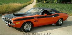 70 CHALLENGER T/A, 340 SIX PACK