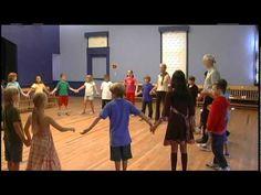 New England Dancing Masters - Teaching the Circle Waltz Mixer - YouTube