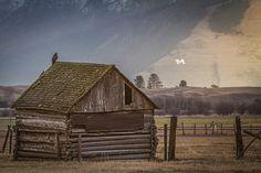 Waitin' on the Mornin' Sun - Missoula, Montana Country Fences, Usa People, Montana Homes, Big Sky Country, Back Road, U.s. States, Old Farm, Covered Bridges, Outdoor Recreation
