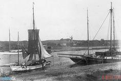 arkiv.dk   Havnen, Kolding. Drivkvase, ca. 1900. Kolding Stadsarkiv.