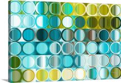 Circles and Squares 32. Modern Abstract Fine Art