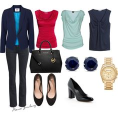 """""""Apple body shape: casual outfit"""" by zimolong-maria on Polyvore"""