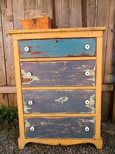 Love this Farmhouse Dresser redo!