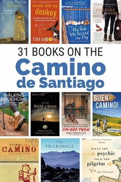 31 Great reads for the Camino. These Camino de Santaigo books will give you inspirational stories and practical advice for your pilgrimage. The Camino, Camino Walk, Camino Trail, Book Lists, Reading Lists, Reading Den, Tall Tales, Spain Travel, Asia Travel