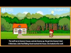 Little Red Riding Hood - Kids Stories - Learn English Kids British Council -