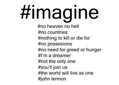 [conteenew] imagine by john lennon