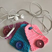 the ordinary diary: How to crochet - Cord holder headphones organizer