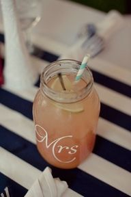 im obsessed with mason jars. Love this idea, AND the lace covered ones