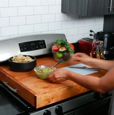 This Stovetop Cover Is Perfect For Kitchens With Limited Counter Space