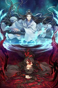 Imagenes Mo dao zu shi - Feliz cumpleaños Wei wuxian - Page 2 - Wattpad Garçon Anime Hot, Manga Anime, Fanarts Anime, Anime Meme, Manga Art, Anime Art, Anime Wolf, Female Anime, Chibi