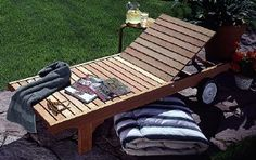Cedar Chaise Lounge Plans