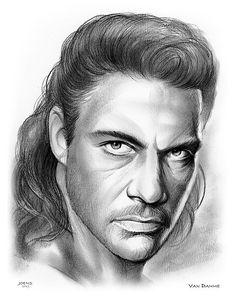 Pencil Sketch of actor Jean-Claude Van Damme Claude Van Damme, Fred Astaire, Graphite Drawings, Keira Knightley, Pencil Portrait, Actors & Actresses, Fan Art, Deviantart, Scarlett Johansson