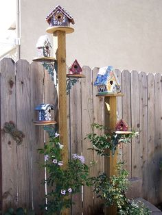 bird house on post