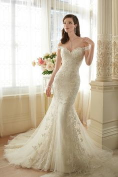 Sophia Tolli Wedding Dresses - Style Loraina Y11634/Y11634HB