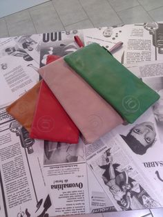 Pochette colorate idea x Natale 2014 #bag #gift #idea #natale #treviso #veneto #handmade