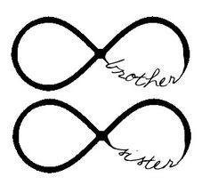Brother & sister tattoo AWWE! Ty could get one too! @Amy Lyons Lyons Lyons Lyons Lyons Bowman