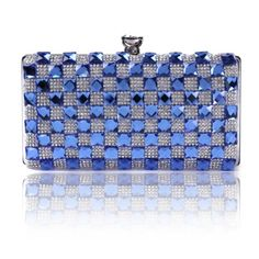Damara Women's Exquisite Rhinestones Medium Evening Bag Snap Closure Clutch Purse,Blue Damara To purchase just click on Amazon right here http://www.amazon.com/dp/B00FOHZS10/ref=cm_sw_r_pi_dp_ARnQtb1SVQ74XS9K