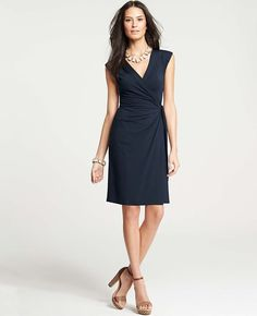 Ann Taylor - AT Tall View All - Ann Taylor Miracle Wrap Dress