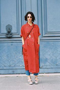 Paris Fashion Week SS 2014....Yasmin - Vanessa Jackman