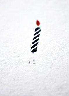 + 1 (Birthday Postcard detail) - Papier Tigre