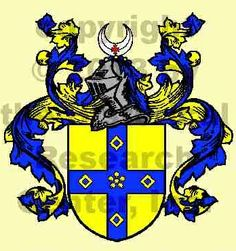 """Haley Coat of Arms and History : The English surname Haley is local in origin, being one of those surnames derived from the place where a man once lived or held land. In this particular instance, the surname is derived from an Old English term meaning simply """"dweller at the hay clearing or field"""" referring to the place name Hailey in Buckinghamshire or Oxfordshire and would indicate that the original bearer of the surname came from this place in medieval times"""