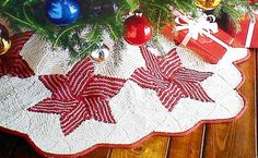 Shop for on Etsy, the place to express your creativity through the buying and selling of handmade and vintage goods. Christmas Star, Vintage Christmas, Christmas Crafts, Xmas, Christmas Ideas, Yule, Christmas Shopping, Knitting Projects, Tree Skirts