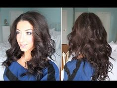"In this video I'm sharing with you guys one of my favorite techniques at creating beautiful, bouncy curls that are perfect for any party or special occasion.    All you will need for this hair tutorial is a 1"" curling wand, hair spray, clips & a teasing comb.    Enjoy this tutorial and don't forget to LIKE this video and leave me a comment down belo..."