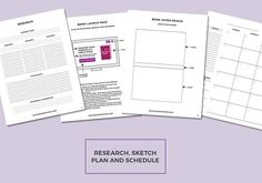 The Novel Author's Workbook - Book Planner - Worksheets for Authors - Brainstorming to Book Launch Writing Plan, Writing Advice, Writing A Book, Make Your Own Map, Blank Book Cover, Editing Checklist, Writing Worksheets, Planner Book, Inspirational Posters
