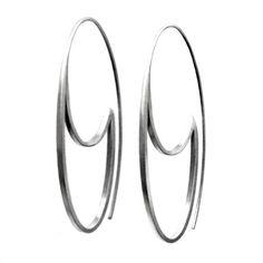 oval hoops by Revonav on Etsy, $59.00