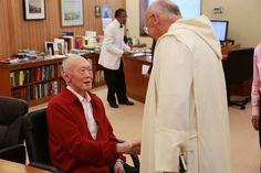 Mr. Lee Kuan Yew and Fr. Laurence Freeman