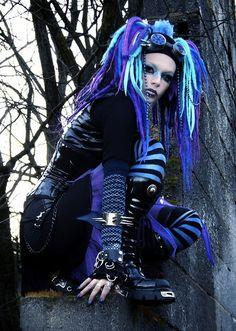 Dark Pinup Girls » Photo: Gothic Beauty