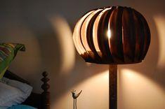 Recycled Wind Turbine Lamp Metal Gear Pipe by CoreynannerDesigns, $325.00