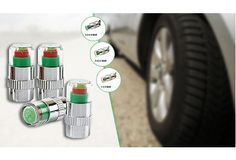 £9 for four pressure-check tyre valve caps - delivery included
