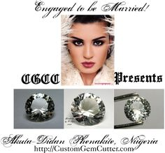 """""""Engaged to be Married!"""" by customgemcutter-creations on Polyvore"""
