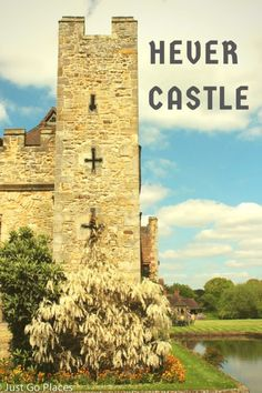 Hever Castle in the county of Kent in England was the childhood home of Anne Boleyn, the second wife of Henry VIII.  Henry's wish to marry Anne was the reason he broke with the Catholic Church and started the Church of England.